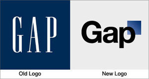 Gap Logo Before and After